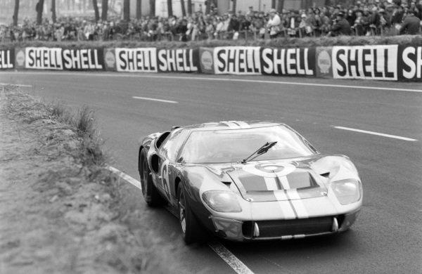 Mario Andretti / Lucien Bianchi, Holman & Moody, Ford Mk II.