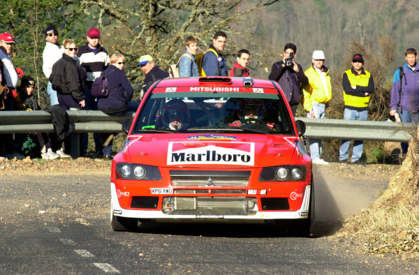 2002 World Rally ChampionshipRally Catalunya, 21st-24th March 2002.Francois Delecour during shakedown.Photo: Ralph Hardwick/LAT