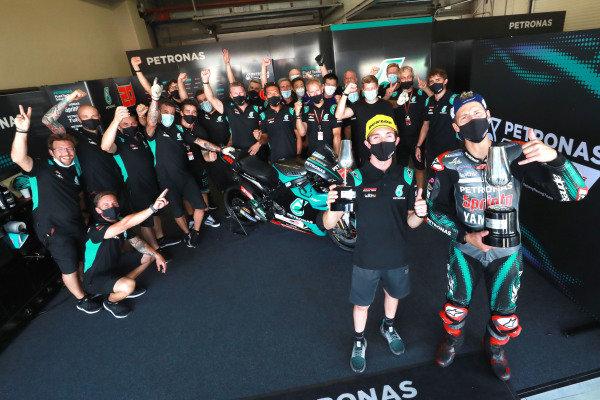 John McPhee, Fabio Quartararo, Petronas Yamaha SRT.