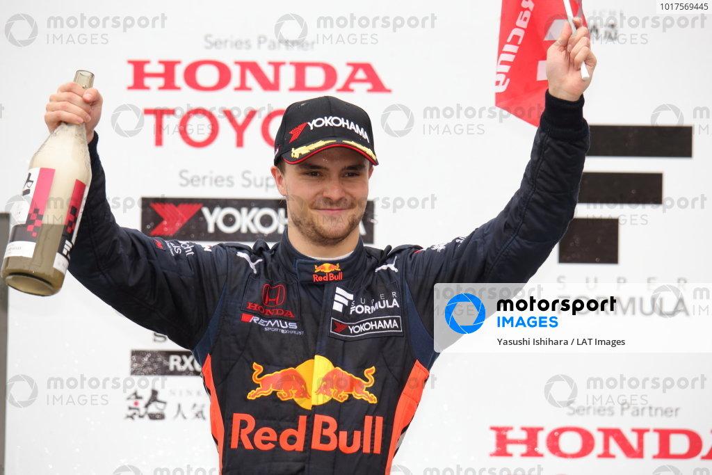 Lucus Auer, B-Max Racing with Motopark Dallara SF19 Honda, 3rd