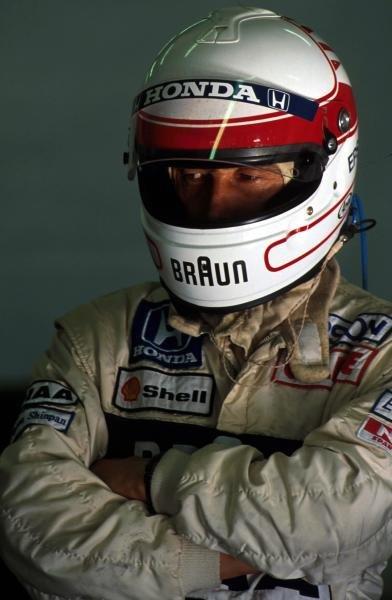 Satoru Nakajima (JPN) Tyrrell 020 Formula One World Championship, Spanish Grand Prix, Barcelona, 29 September 1991 Catalogur Ref.:  Sutton Motorsport Images Catalogue