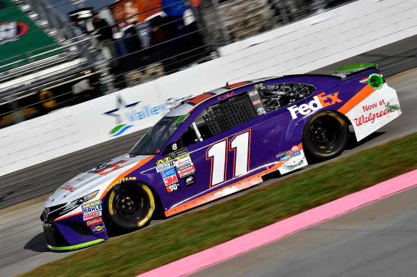 Monster Energy NASCAR Cup Series First Data 500 Martinsville Speedway, Martinsville VA USA Sunday 29 October 2017 Denny Hamlin, Joe Gibbs Racing, FedEx Walgreens Toyota Camry World Copyright: Rusty Jarrett LAT Images
