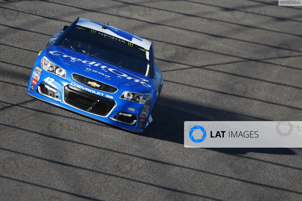 Monster Energy NASCAR Cup Series Homestead-Miami Speedway, Homestead, Florida USA Sunday 19 November 2017 Kyle Larson, Chip Ganassi Racing, Credit One / DC Solar Chevrolet SS World Copyright: Rainier Ehrhardt / LAT Images ref: Digital Image DSC_1877