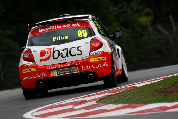 2013 Renault Clio Cup, Brands Hatch, Kent. 11th - 13th October 2013. Josh Files (GBR) Team Pyro Renault Clio Cup. World Copyright: Ebrey / LAT Photographic.