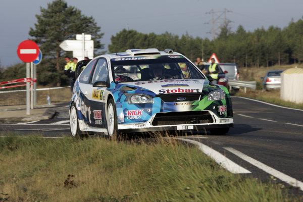 Round 11 Rally Catalunya 01-04 October 2009Matthew Wilson, Ford, ActionWorldwide Copyright: McKlein/LAT