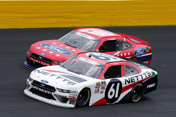 #61: Kaz Grala, Fury Race Cars LLC, Ford Mustang NETTTS #60: Ty Majeski, Roush Fenway Racing, Ford Mustang Ford