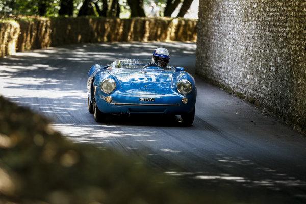 Rainer Becker, Porsche 550 Spyder