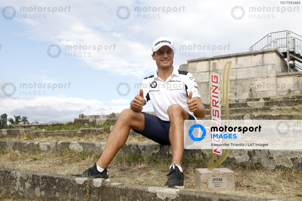 Race winner Bruno Spengler, BMW Team RMG.