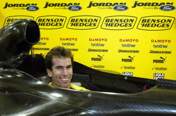2003 Formula One ChampionshipRalph Firman Seat Fitting, Silverstone, England.3rd February 2003.Ralph Firman (GBR) is announced as the second driver for the Jordan Grand Prix Team.Copyright: Free for Editorila Use Only/Jordan Grand Prixref: Digital Image Only