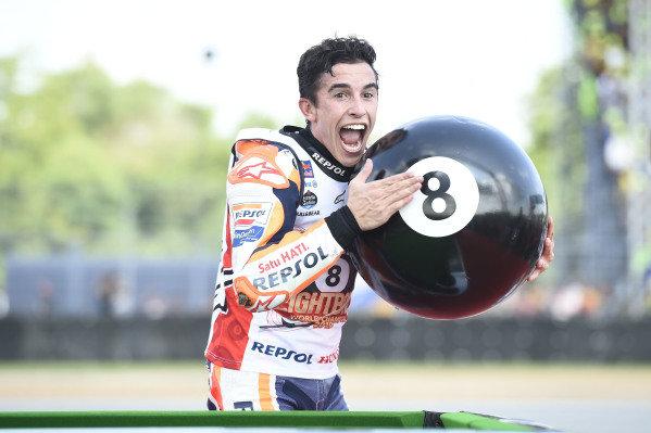 World Champion Marc Marquez, Repsol Honda Team celebrates