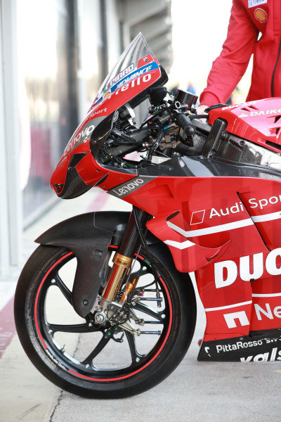 Bike of Ducati Team.