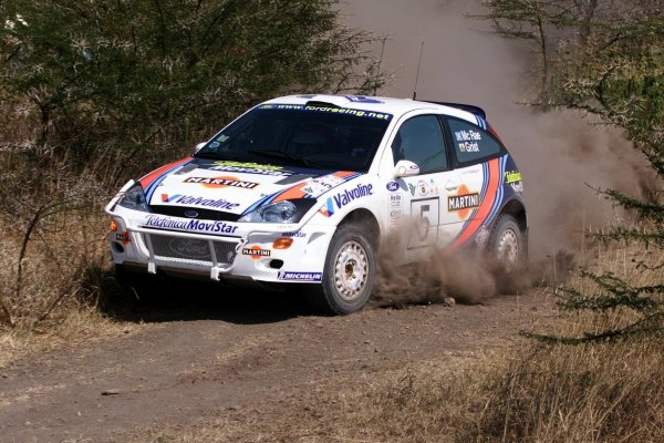 2000 World Rally ChampionshipRound 3, Safari WRC25th - 27th Feb 2000Colin McRae in action in the Ford Focus.Photo: McKlein/LAT