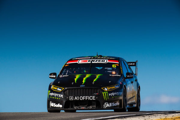 2017 Supercars Championship Round 4.  Perth SuperSprint, Barbagallo Raceway, Western Australia, Australia. Friday May 5th to Sunday May 7th 2017. Cameron Waters drives the #6 Monster Energy Ford Falcon FGX. World Copyright: Daniel Kalisz/LAT Images Ref: Digital Image 050517_VASCR4_DKIMG_1541.JPG