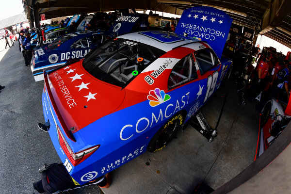 NASCAR XFINITY Series Use Your Melon Drive Sober 200 Dover International Speedway, Dover, DE USA Friday 29 September 2017 Matt Tifft, Comcast NBC Universal Salute to Service Toyota Camry World Copyright: Logan Whitton LAT Images