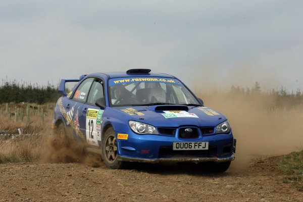 2007 British Rally Championship,Pirelli International Rally, Carlisle, Cumbria. 20th-21st April 2007.Rob SwannWorld Copyright: Ebrey/LAT photographic.