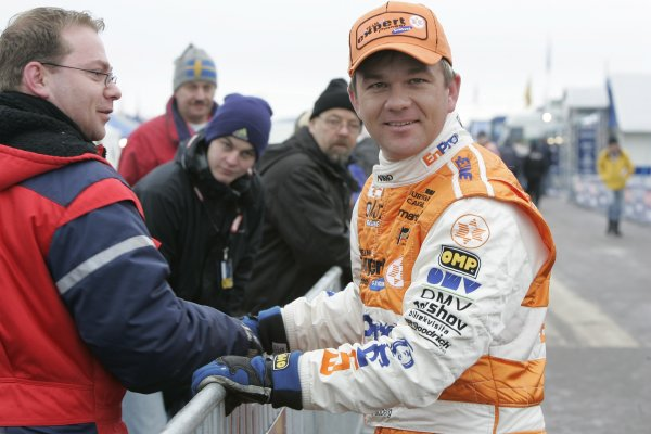 2006 FIA World Rally Champs. Round two Swedish Rally.2nd-5th February 2006.Henning Solberg, Peugeot, Portrait.World Copyright: McKlein/LAT