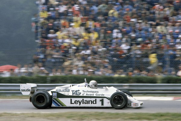 1981 Italian Grand PrixMonza, Italy. 11-13 September 1981.Alan Jones (Williams FW07C-Ford Cosworth), 2nd position. Ref - 81ITA20.World Copyright - LAT Photographic