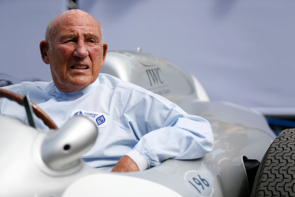2015 Goodwood Festival of Speed Goodwood Estate, West Sussex, England. 25th - 28th June 2015. Stirling Moss. World Copyright: Alastair Staley/LAT Photographic ref: Digital Image_R6T8976