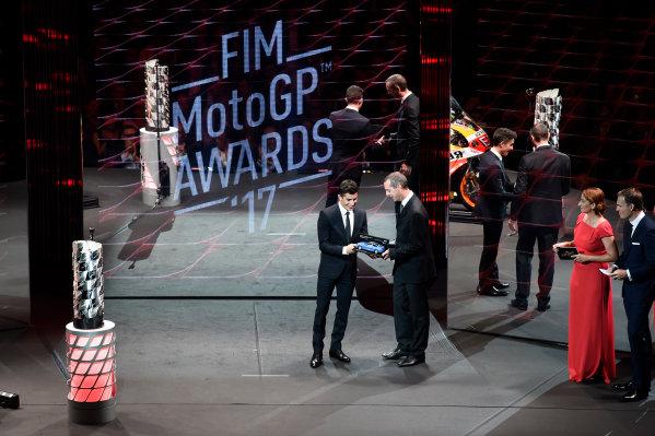2017 MotoGP Championship - Round 18 Valencia, Spain  Sunday 12 November 2017 Marc Marquez, Repsol Honda Team  World Copyright: Gold and Goose Photography/LAT Images  ref: Digital Image 706762