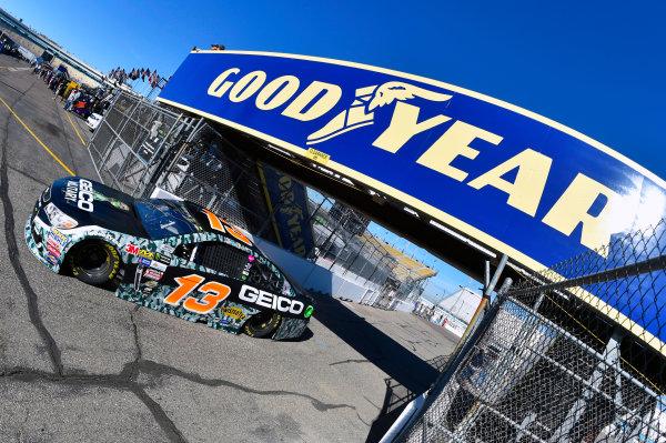 Monster Energy NASCAR Cup Series Can-Am 500 Phoenix Raceway, Avondale, AZ USA Saturday 11 November 2017 Ty Dillon, Germain Racing, GEICO Military Chevrolet SS World Copyright: Nigel Kinrade LAT Images