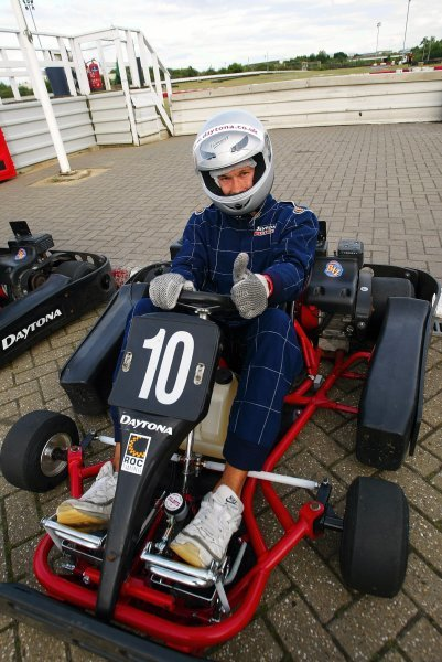 Mark Capilitan (IRE) Sutton Motorsport Images finished a respectable eleventh on his SMI karting debut. 