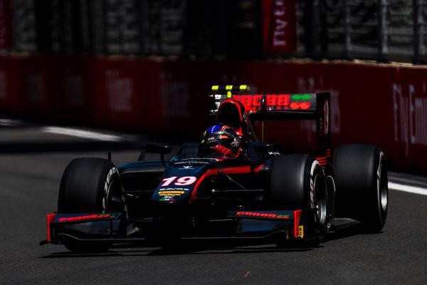 2017 FIA Formula 2 Round 4. Baku City Circuit, Baku, Azerbaijan. Friday 23 June 2017. Johnny Cecotto Jr. (VEN, Rapax)  Photo: Zak Mauger/FIA Formula 2. ref: Digital Image _54I9792