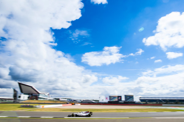 Silverstone, Northamptonshire, UK.  Friday 14 July 2017. Lance Stroll, Williams FW40 Mercedes. World Copyright: Charles Coates/LAT Images  ref: Digital Image AN7T4381