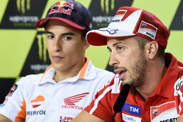 2017 MotoGP Championship - Round 10 Brno, Czech Republic Friday 4 August 2017 Andrea Dovizioso, Ducati Team World Copyright: Gold and Goose / LAT Images ref: Digital Image 49937
