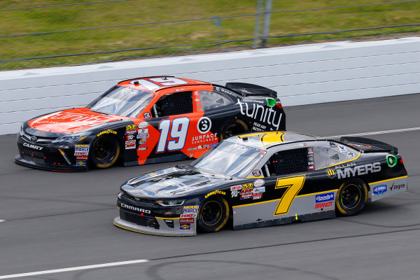 NASCAR XFINITY Series Pocono Green 250 Pocono Raceway, Long Pond, PA USA Saturday 10 June 2017 Matt Tifft, Tunity Toyota Camry and Justin Allgaier, Allan Myers Chevrolet Camaro World Copyright: Russell LaBounty LAT Images ref: Digital Image 17POC1rl_03638