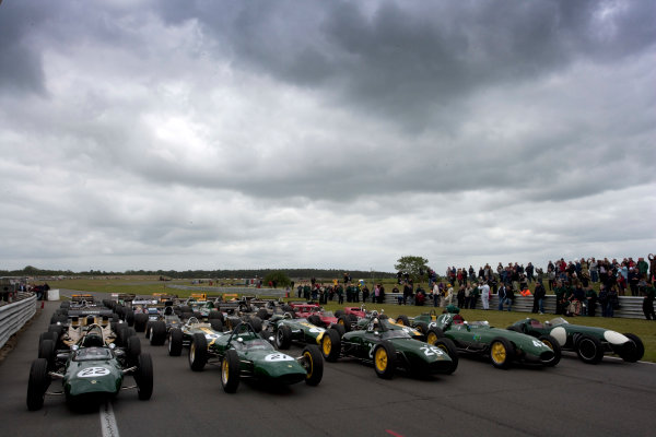 Snetterton, Norfolk. UK. 20th June 2010.Historic Team Lotus F1 Cars. World Copyright: Alastair Staley/LAT PhotographicDigital Image _P9O9394 jpg