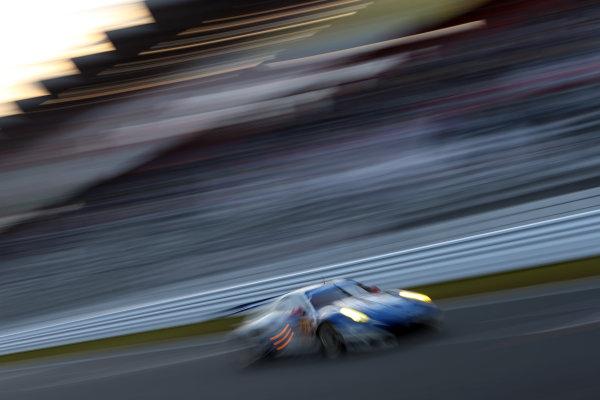 2016 World Endurance Championship, Fuji, Japan. 14th-16th October 2016, Christian Reid / Wolf Henzler / Joel Camathias - KCMG Porsche 911 RSR  World copyright. Jakob Ebrey/LAT Photographic