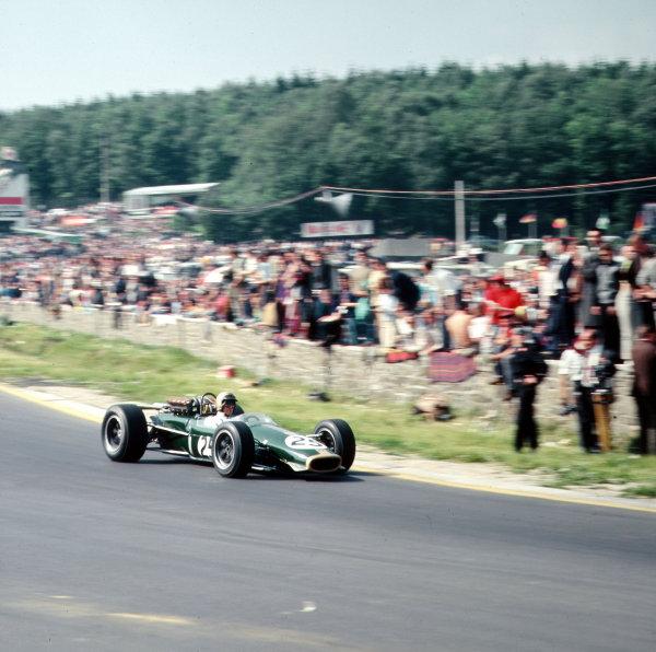 Spa-Francorchamps, Belgium.16-18 June 1967.Jack Brabham (Brabham BT24 Repco).Ref-3/2964.World Copyright - LAT Photographic
