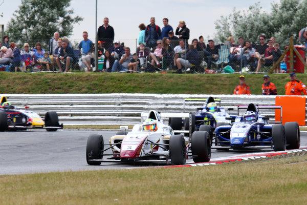 2016 British Formula 4 Championship, Snetterton, Norfolk. 29th - 31st July 2016. Sennan Fielding (GBR) JHR Developments Ford British F4. World Copyright: Ebrey / LAT Photographic.