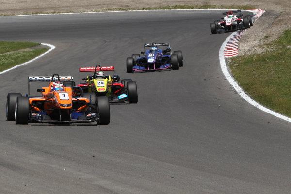 2013 Masters of Formula Three, Zanvoort, 7th July 2013. Michael Lewis (USA) KFZ-Teile24 Mucke Motorsport Dallara F312 Mercedes World Copyright: Essay/Ebrey/LAT Photographic