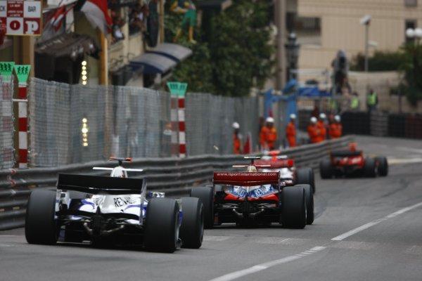 2008 GP2 Series. Round 3. Saturday Race. Monte-Carlo, Monaco. 24th May 2008.GP2 Series race action. Action. World Copyright: Charles Coates/GP2 Series Media Service.ref:__26Y9509 jpg