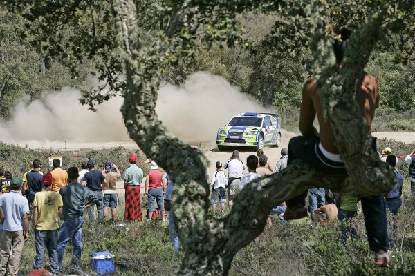 2006 FIA World Rally Championship.Round 7. 18th - 21st May 2006.Rally of Italy, Sardinia.Mikko Hirvonen, Ford, action.World Copyright: McKlein/LAT