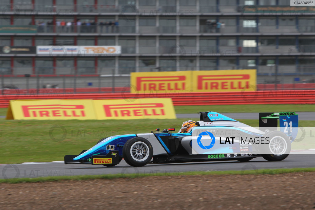 2016 BRDC Formula Three Championship, 11th-12th June 2016, SIlverstone, UK, Jan Jonck (DEN) Sean Walkinshaw Racing BRDC F3  World copyright. Ebrey/LAT Photographic