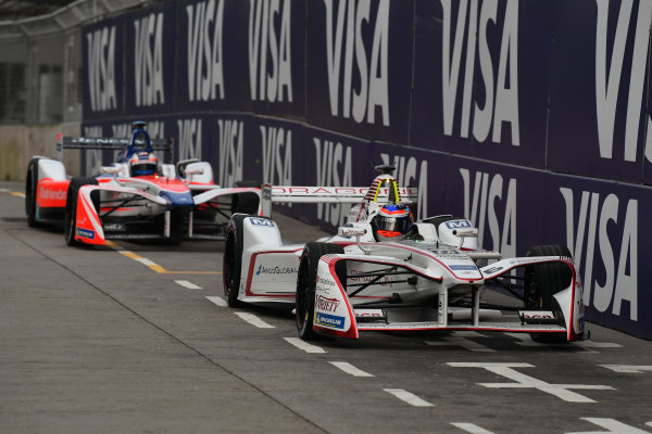 2017/2018 FIA Formula E Championship. Round 1 - Hong Kong, China. Saturday 02 December 2018. Neel Jani (SUI), Dragon, Penske EV-2. Photo: Mark Sutton/LAT/Formula E ref: Digital Image DSC_8324