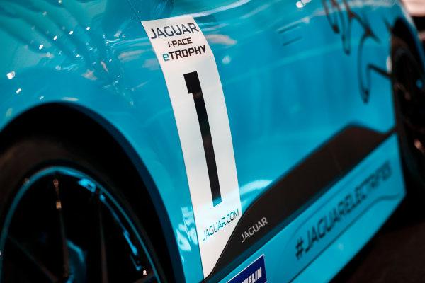 Autosport International Exhibition. National Exhibition Centre, Birmingham, UK. Thursday 11th January 2017. The Jaguar I-Pace Trophy.World Copyright: Glenn Dunbar/LAT Images Ref: _X4I4116