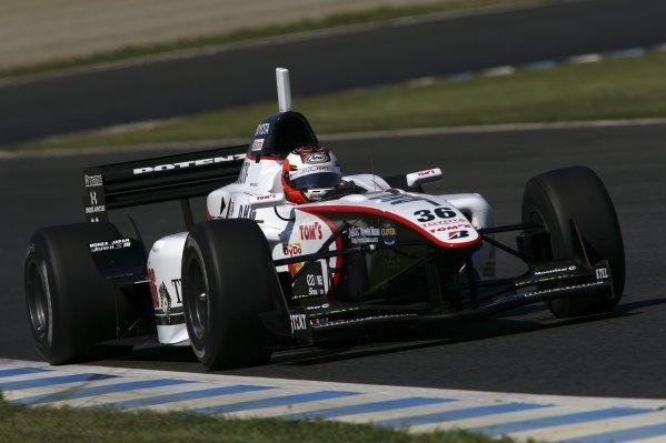 2007 Formula Nippon ChampionshipTwinring Motegi, Japan.19th - 20th May 2007Andre Lotterer (DHG Tom's), 2nd position, action.World Copyright: Yasushi Ishihara/LAT Photographicref: Digital Image 2007_FN_Rd3_013