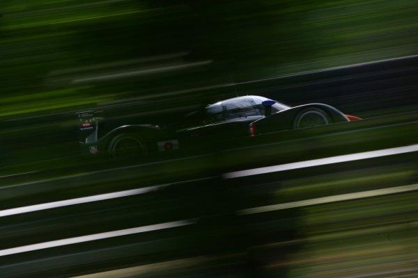 2007 Le Mans Test Day2nd and 3rd June 2007.Le Mans, France.Sunday Test DayPedro Lamy (PRT)/Stephane Sarrazin (FRA)/Sebastien Bourdais (FRA) (no 8 Peugeot 908 Hdi FAP) action.World Copyright: Glenn Dunbar/LAT Photographic. ref: Digital Image YY8P5760