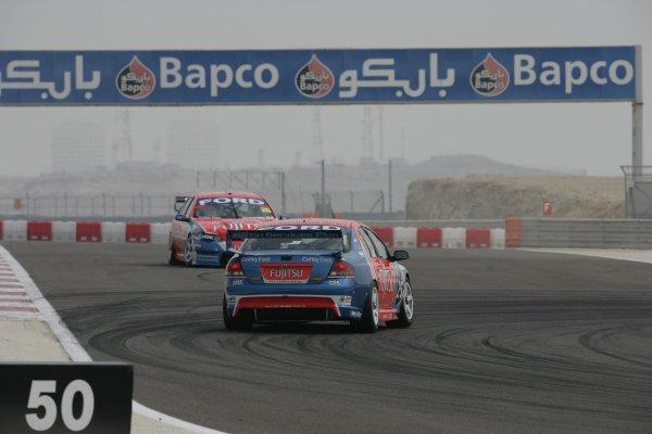 V8 Supercars Championship Round 12. V8 Supercars driver  Warren Luff during the Desert 400 in Bahrainth. November 23-25, 2006. Mark Horsburgh