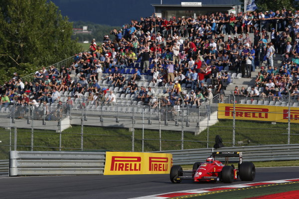 Red Bull Ring, Spielberg, Austria. Saturday 21 June 2014. Gerhard Berger. World Copyright: Charles Coates/LAT Photographic. ref: Digital Image _N7T3729