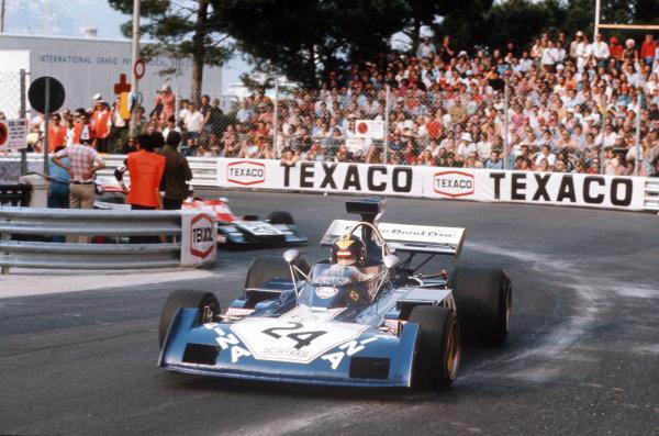 Monte Carlo, Monaco.31/5-3/6 1973.Carlos Pace (Surtees TS14A Ford).Ref-73 MON 32.World Copyright - LAT Photographic