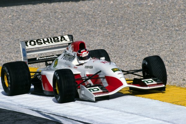 Aguri Suzuki (JPN) Footwork Mugen-Honda FA13.