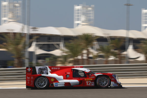 2014 World Endurance Championship, Bahrain International Circuit, Sakhir, Bahrain 13th-15th November, 2014. Nicolas PROST, Nick HEIDFELD, Mathias BECHE 	Rebellion R-One - Toyota  World copyright: Lord/Ebrey/LAT Photographic