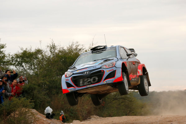 2014 World Rally Championship Rally Argentina 8th - 11th May 2014 Thierry Neuville, Hyundai, action Worldwide Copyright: McKlein/LAT