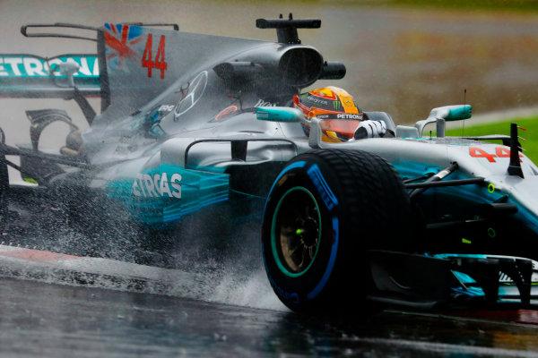 Suzuka Circuit, Japan. Friday 06 October 2017. Lewis Hamilton, Mercedes F1 W08 EQ Power+.  World Copyright: Steven Tee/LAT Images  ref: Digital Image _R3I6803