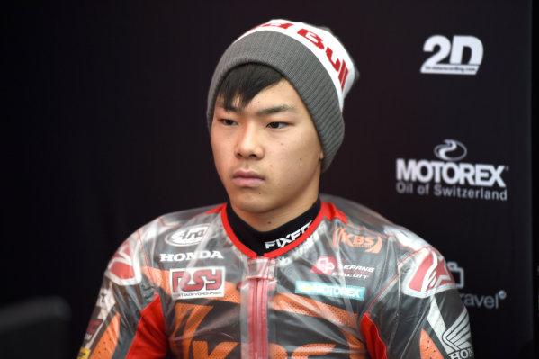 2017 Moto3 Championship - Round 15 Motegi, Japan. Thursday 12 October 2017 Ayumu Sasaki, SIC Racing Team World Copyright: Gold and Goose / LAT Images ref: Digital Image 21480