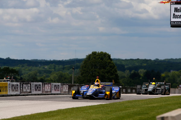 Verizon IndyCar Series Kohler Grand Prix Road America, Elkhart Lake, WI USA Sunday 25 June 2017 Alexander Rossi, Andretti Herta Autosport with Curb-Agajanian Honda World Copyright: Phillip Abbott LAT Images ref: Digital Image abbott_elkhart_0617_8110